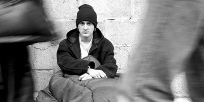 Destitute and Desperate amid Rich and Powerful